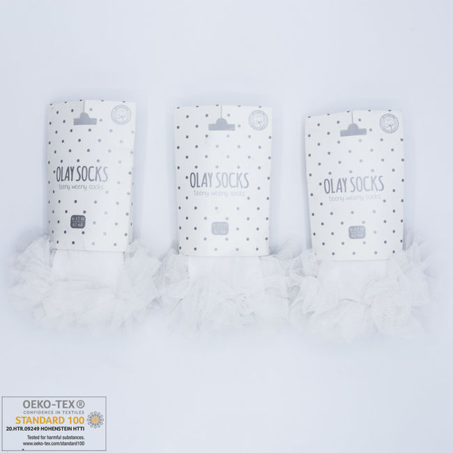 Picture of 9.01.0023 - WHITE - 6 Pairs