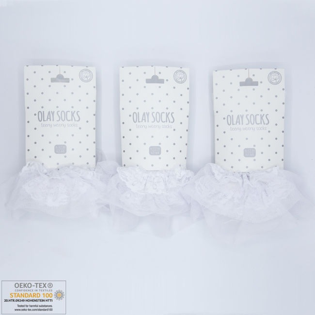 Picture of 9.01.0025 - WHITE - 6 Pairs